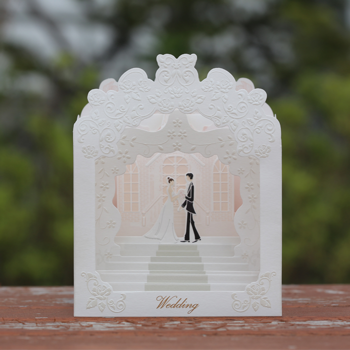 Wedding popup Card